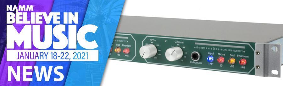 NAMM 2021 - Daking Audio unveil new transformer option for Mic Pre II