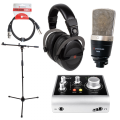 Audient iD4 Studiospares S400 Bundle with Mic Stand