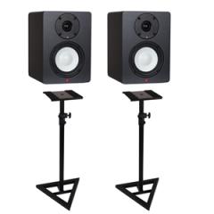 Studiospares SN4A Active Studio Monitors Stands Bundle