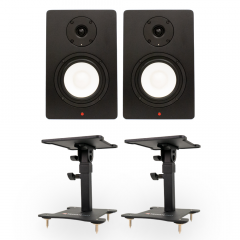 Studiospares SN5A Pair + Desktop Monitor Stands