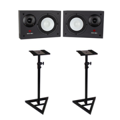 Studiospares SN10 MkII Studio Monitors pair + Monitor Stands