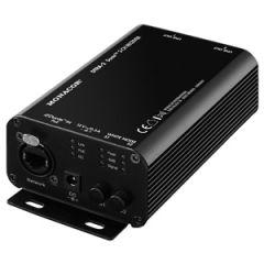 Monacor DTRA-2 Dante I/O 2-Channel Dante-Analogue Receiver Box