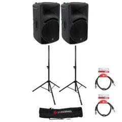 Mackie SRM450 v3 PA Speakers Bundle