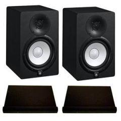 Yamaha HS7 Studio Monitors Isolation Bundle