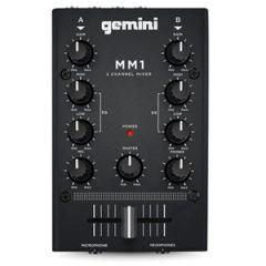 Gemini MM1 2-Channel Mini Mixer