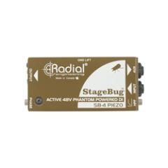 Radial Stagebug SB-4 Piezo Active DI Box
