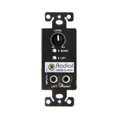 Radial StageBug SB-5W Wall DI Wallmount Stereo