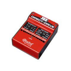 Radial JDX Direct Drive Amp Simulator DI Box