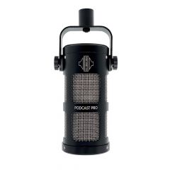 Sontronics PODCAST PRO BLACK supercardioid dynamic microphone