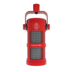 Sontronics PODCAST PRO RED supercardioid dynamic microphone