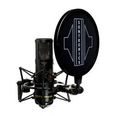 Sontronics STC-3X Pack Black three-pattern condenser mic with accessories
