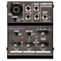 ART USBMIX Portable USB Mixer
