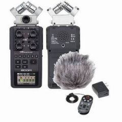 Zoom H6 Black + Accessory Pack