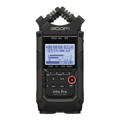 Zoom H4nPro Black Portable Recorder