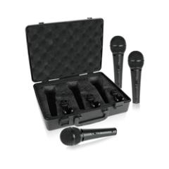 Behringer Ultravoice XM1800S Dynamic Mic 3-Pack