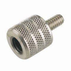 K&M 21920 3/8 inch Female – 1/4 inch Male Thread Adaptor
