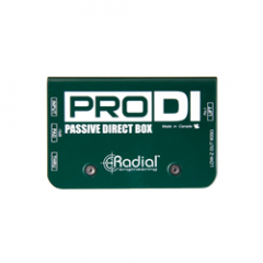 Radial ProDI Mono Passive DI Box