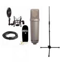 Rode NT1A + Mic Stand (No Boom)