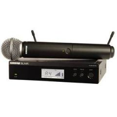 Shure BLX24R/SM58 SM58 Rack Vocal System Channel 38