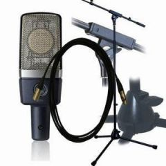 AKG C214 Pro Stand/Pop Shield/5m Lead Package