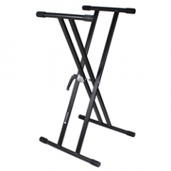 Studiospares 4-Pack Double Cross Keyboard Stands