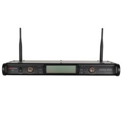 Studiospares 2.4GHz Dual Wireless System Receiver Unit + PSU RackEars Cable