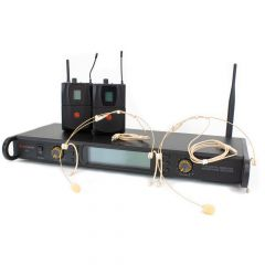 Studiospares 2.4GHz Dual Wireless System Headset S2.4/DHS