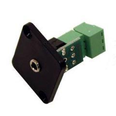 HICON HI-J35SEFD-S Mini Jack Socket Screw Clamp