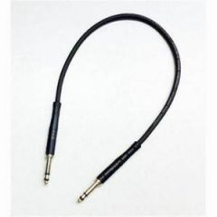 REAN / Neutrik Starquad Bantam Patch Cord 1.5ft Black NRA-TTSQ1.5FTBLK