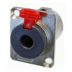 Precision Jack Socket Locking Chassis Mono / Stereo