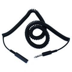 Headphone Extension Coiled 6M