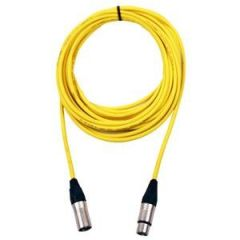 Pro Neutrik XLR Cable 10m Yellow