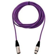 Pro Neutrik XLR Cable 25m Violet