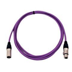 Pro Neutrik XLR Cable 3.5m Violet
