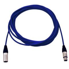 Pro Neutrik XLR Cable 7m Blue