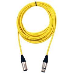 Pro Neutrik XLR Cable 15m Yellow