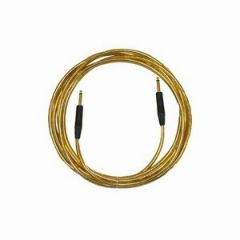Pro Neutrik ZX Guitar Lead 10m Gold Straight