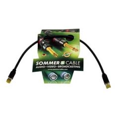 Pro Neutrik/Sommer CAT7 Lead (Hirose plugs) 50cm
