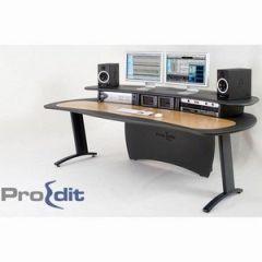 ProEdit Desk Grey & Oak