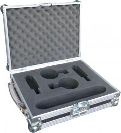 Metal Carrying Case with Inserts for AKG C414
