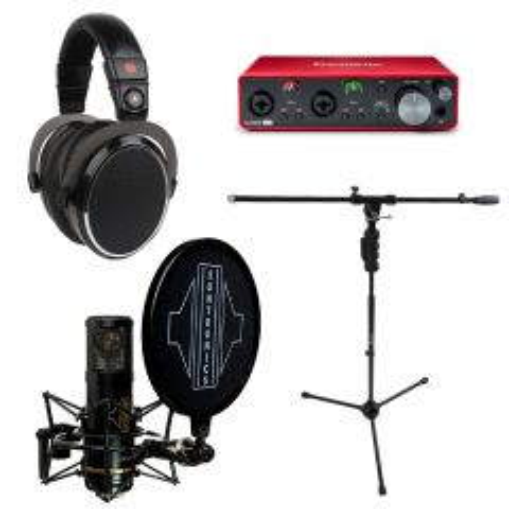 Focusrite Recording Pack Plus