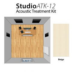 Studiospares StudioATK-12 Acoustic Treatment Kit Beige