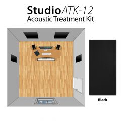 Studiospares StudioATK-12 Acoustic Treatment Kit Black